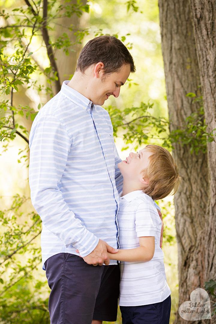 Bilder voller Liebe Familienfotografin mit Herz