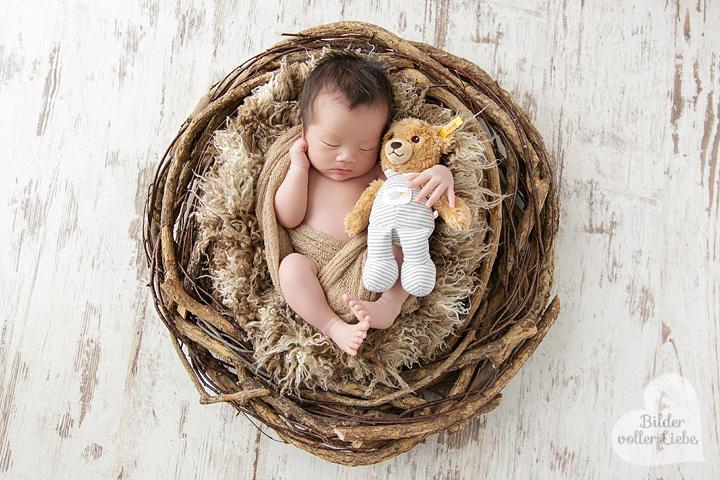 Besondere Babyfotos im Berliner Fotostudio
