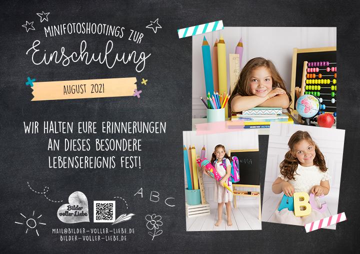 Einschulung Fotoshooting Berlin 2021